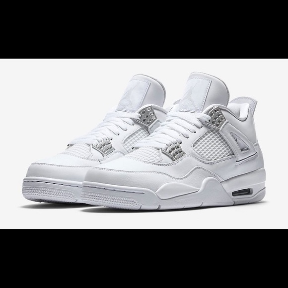 Jordan Shoes | All White 4s Jordans
